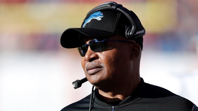 Former Detroit Lions coach Jim Caldwell 2