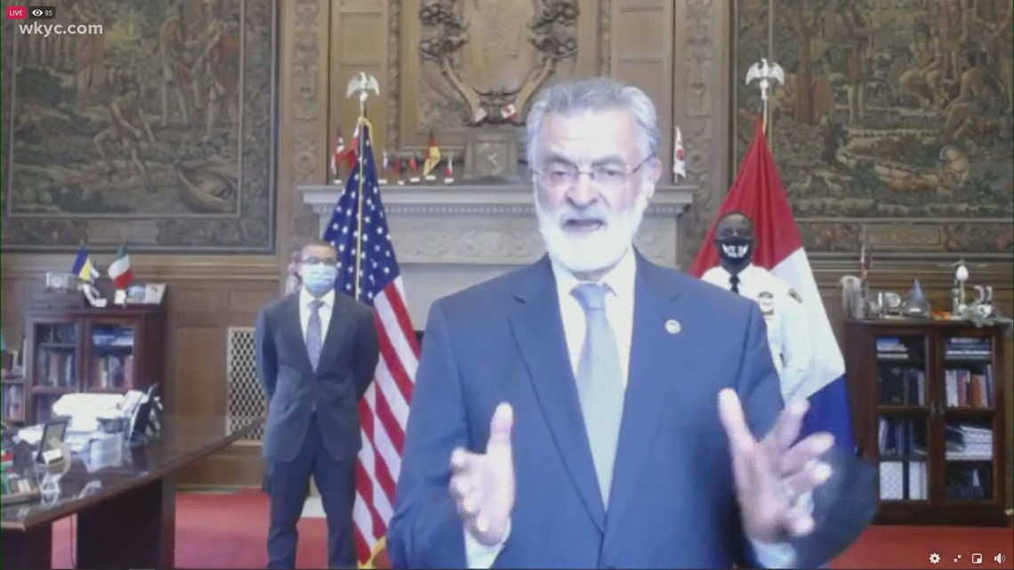 Cleveland Mayor Frank Jackson discusses state of public safety in the city