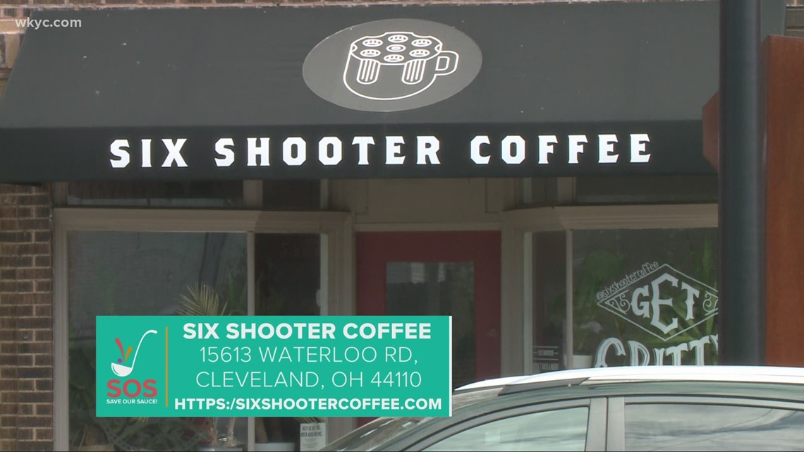 Six Shooter Coffee in Cleveland