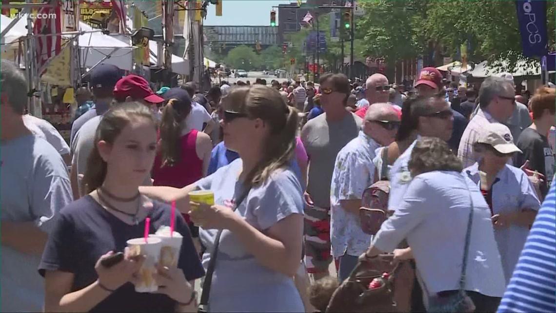 Summer festivals begin around Northeast Ohio