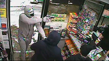 Geauga County Sheriff's Office searching for suspect who robbed BP station