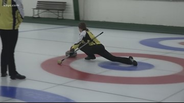 Local teen curlers prepare for national championship tournament