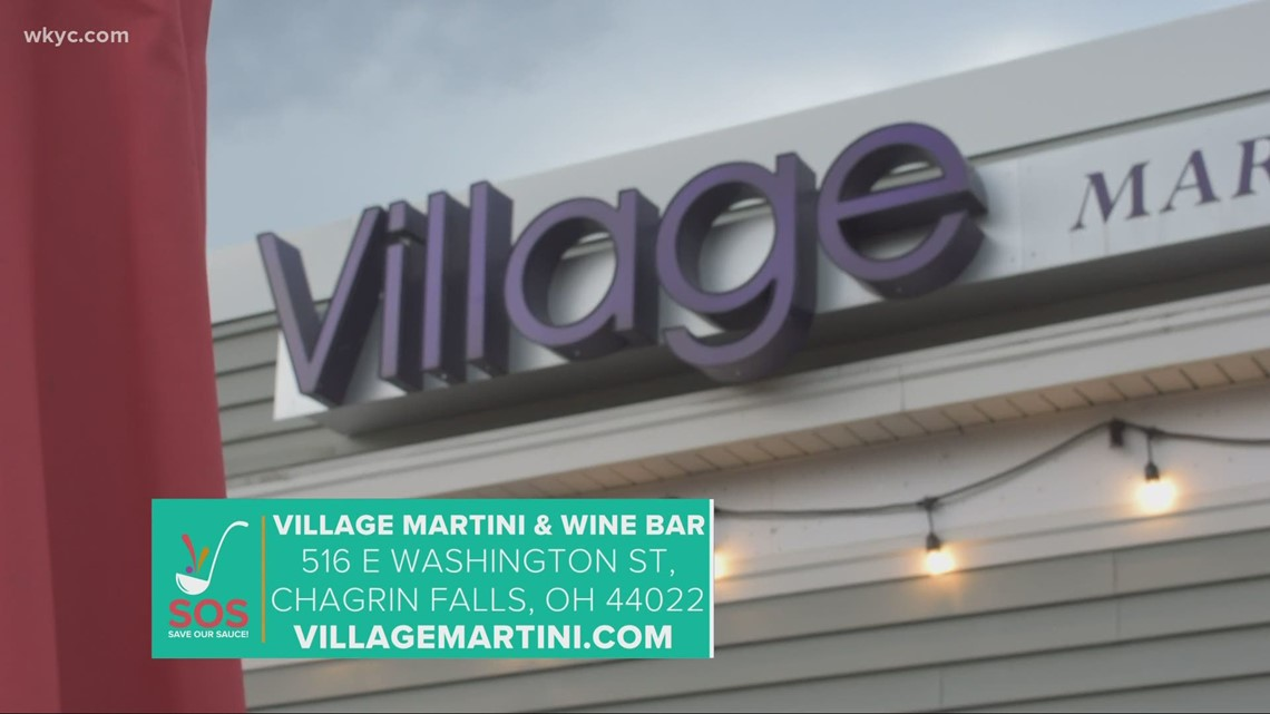 Village Martini & Wine Bar in Chagrin Falls: 'Save Our Sauce' campaign