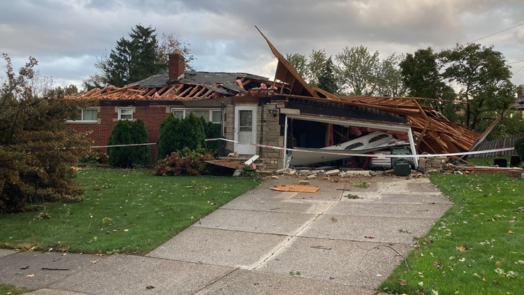 Wickliffe home destroyed by possible tornado