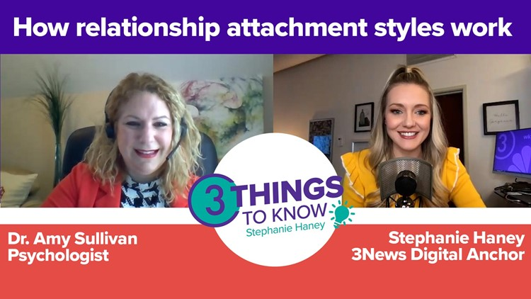 Cleveland Clinic psychologist explains how attachment styles impact our relationships: 3 Things to Know with Stephanie Haney podcast