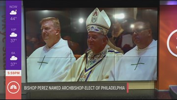 Clevelanders send best wishes to Bishop Nelson Perez as he prepares to leave for Philadelphia