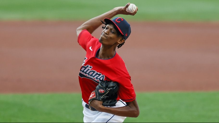 'Beyond the Dugout' with Cleveland Indians pitcher Triston McKenzie
