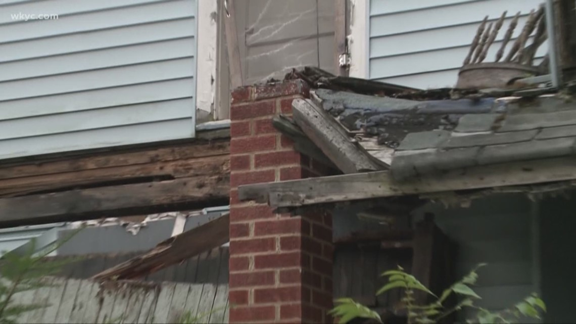 Image result for City of Cleveland using grant to demolish abandoned homes