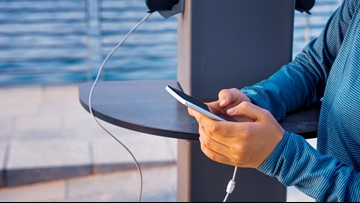 Protect yourself from 'juice jacking' when you charge your devices in public places