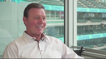 Cleveland Indians broadcaster Rick Manning talks about the special autographed baseball he kept from his career: 'Beyond the Dugout'