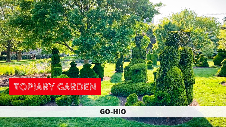 GO-HIO | Walking inside a famous French painting at Topiary Garden