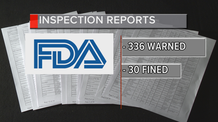 vaping inspection reports