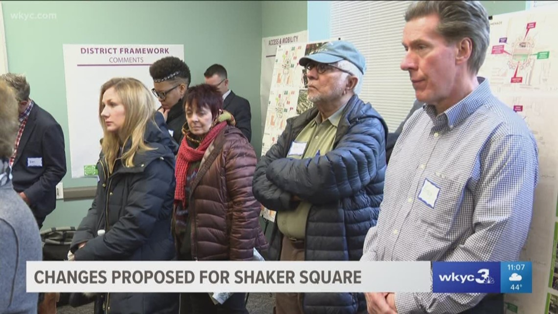 Image result for Community chimes in on Shaker Square project which could remove Shaker Blvd