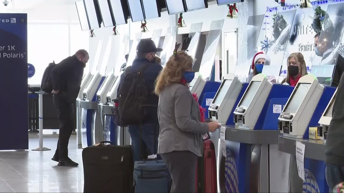 Millions of travelers are on the move during the holiday season