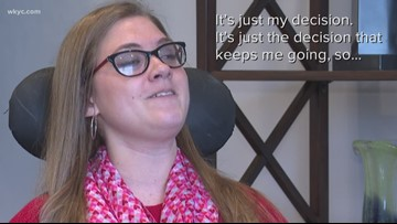 Young woman with special needs is changing the lives of children she may never meet