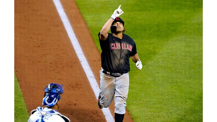 Josh Naylor homers in 9th as Cleveland Indians edge Kansas City Royals 5-4