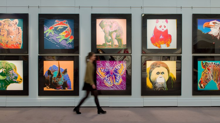 Andy Warhol S Endangered Species Collection Coming To Cleveland
