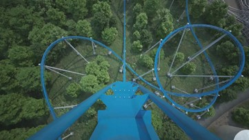 Orion roller coaster coming to Kings Island in 2020: Front seat POV