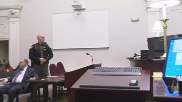 Man accused in Concord Township murders appears in court