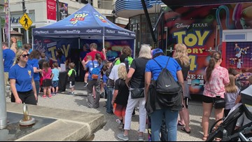 'Toy Story 4' themed RV rolls into Crocker Park