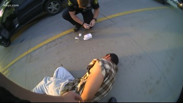 Solon officers use Narcan on suspect during stolen car chase