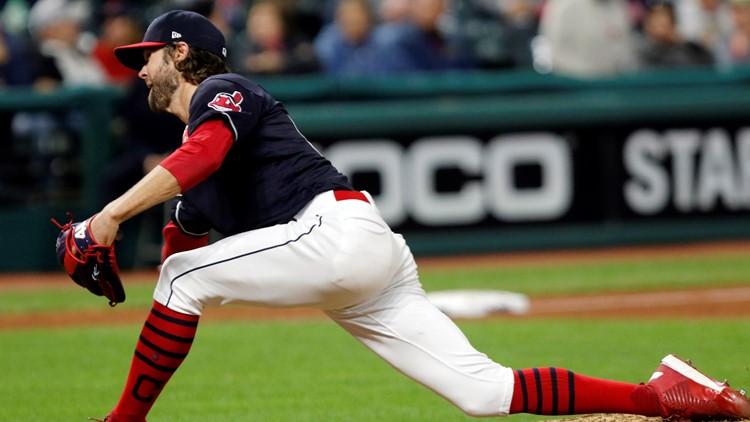 Cleveland Indians reliever Adam Cimber 2