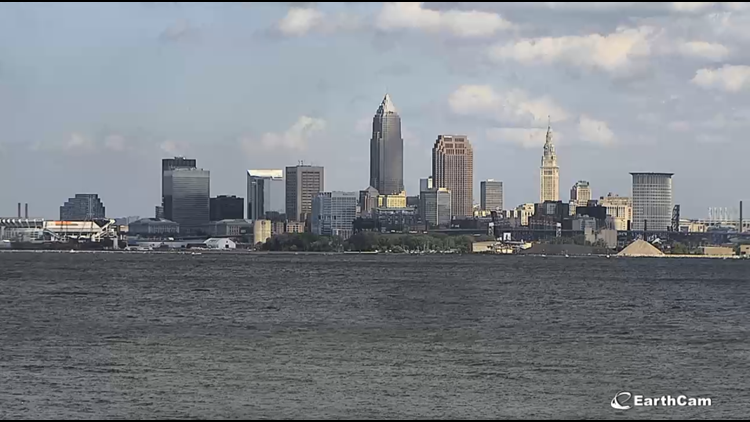 Downtown Cleveland on August 28, 2019