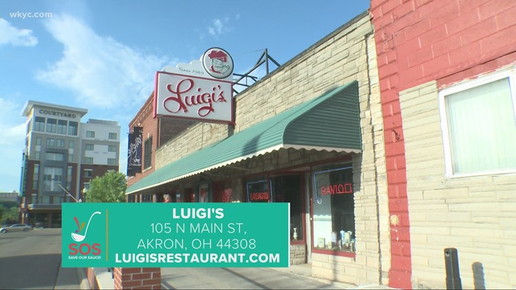 Luigi's iconic pizza and salad in Akron: 'Save Our Sauce' campaign