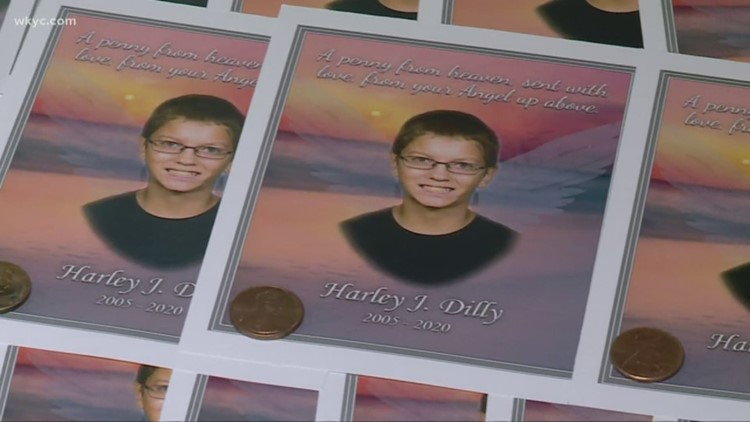 Public visitation takes place for Port Clinton teen Harley Dilly