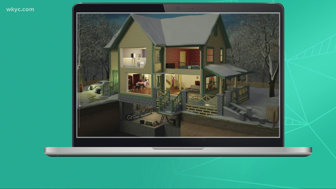 How to take a virtual tour of the house from 'A Christmas Story'