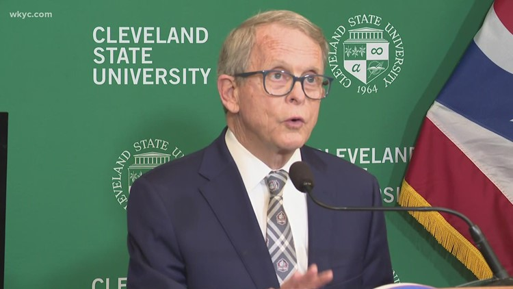 Gov. Mike DeWine visits Cleveland to promote Ohio Tourism Day