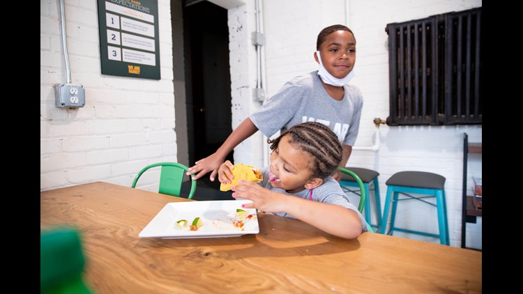 Taco Tuesday comes to LeBron James Family Foundation's I PROMISE Village