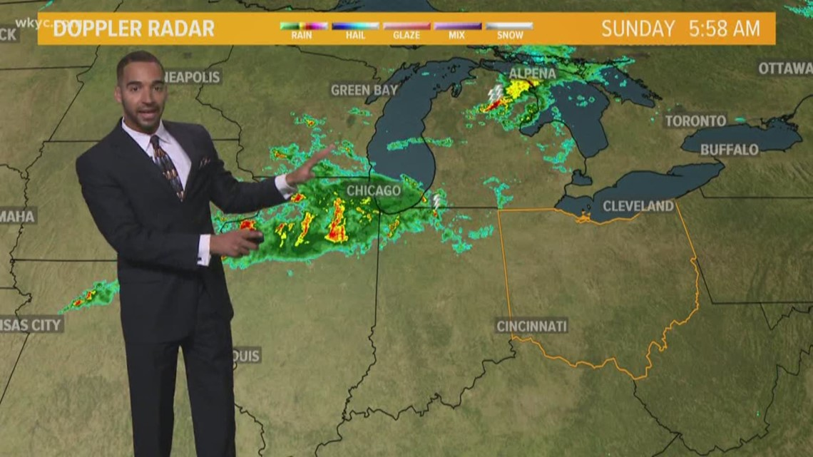 FORECAST | More Clouds. Isolated Shower Today.