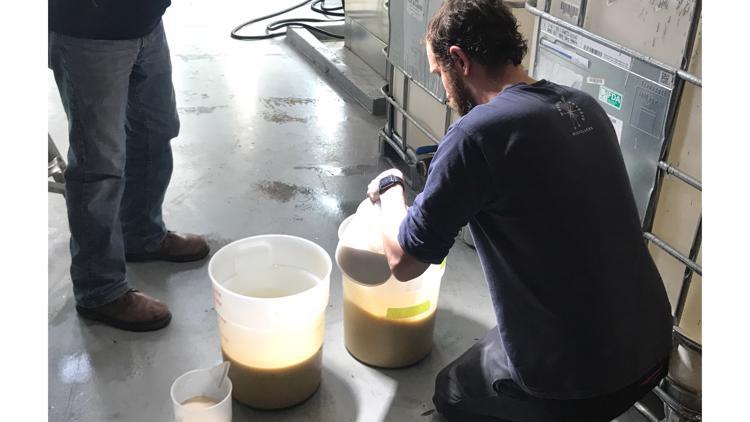 Jake Thomas at Western Reserve Distillers
