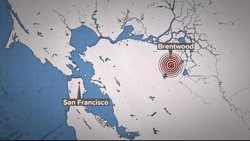 Magnitude 4.3 earthquake rattles San Francisco Bay Area