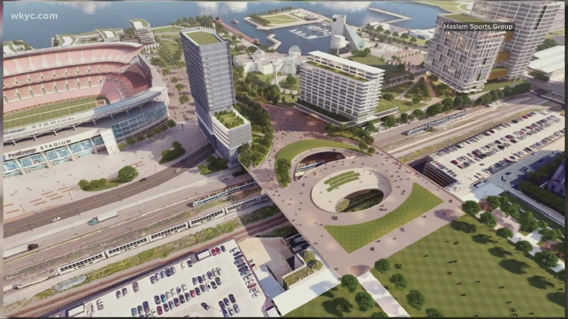 Cleveland City Council approves $2.5 million to explore lakefront development project proposed by Browns owners