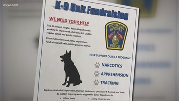 Richmond Heights police need your help getting a new K9 officer: Here's how you can donate