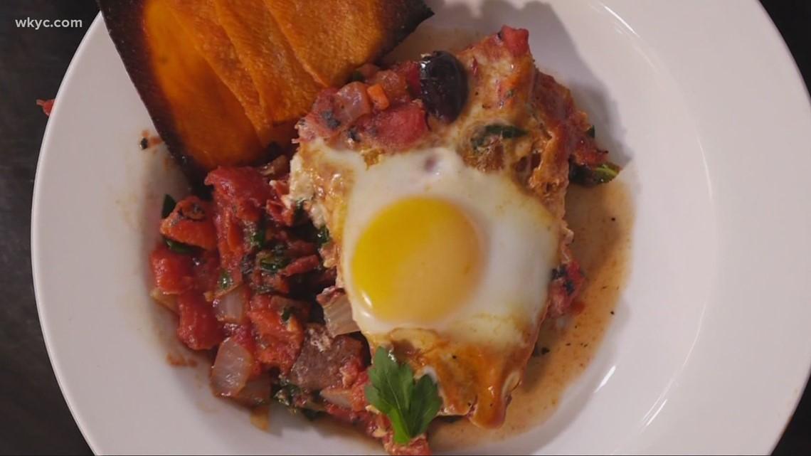 Comfort food Friday: Recipe for sweet potato kale shakshouka