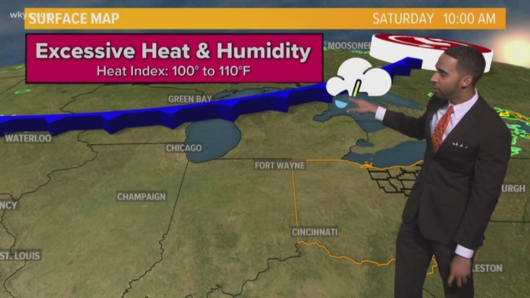 FORECAST | Hot, Humidity, Showers & Storms!