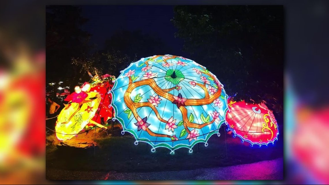 Cleveland Zoo Extends Asian Lantern Festival: Photos