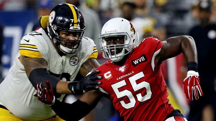 Chandler Jones Pittsburgh Steelers-ArizonaCardinals Football