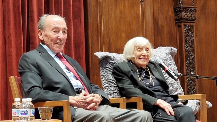French Jewish spy in Nazi Germany shares her story before sold-out crowd in Cleveland