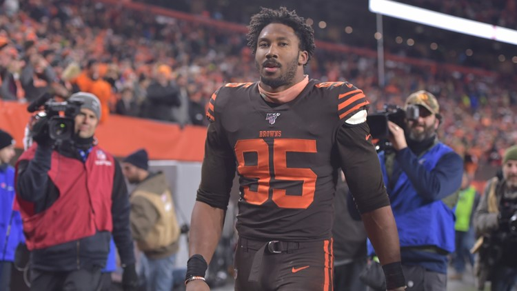 Myles Garrett's fresh start needlessly covers old ground: Bud Shaw's Sports Spin