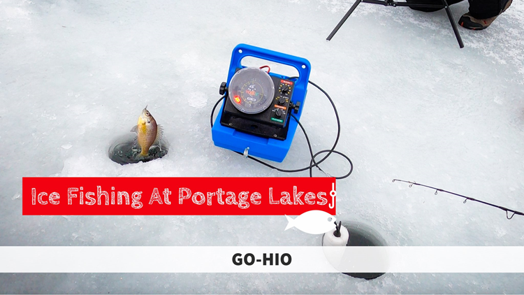 GO-HIO | Ice fishing on Portage Lakes
