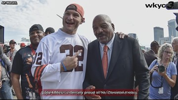 UFC fighter Stipe Miocic congratulates Cleveland on job well done hosting 2019 MLB All-Star Game