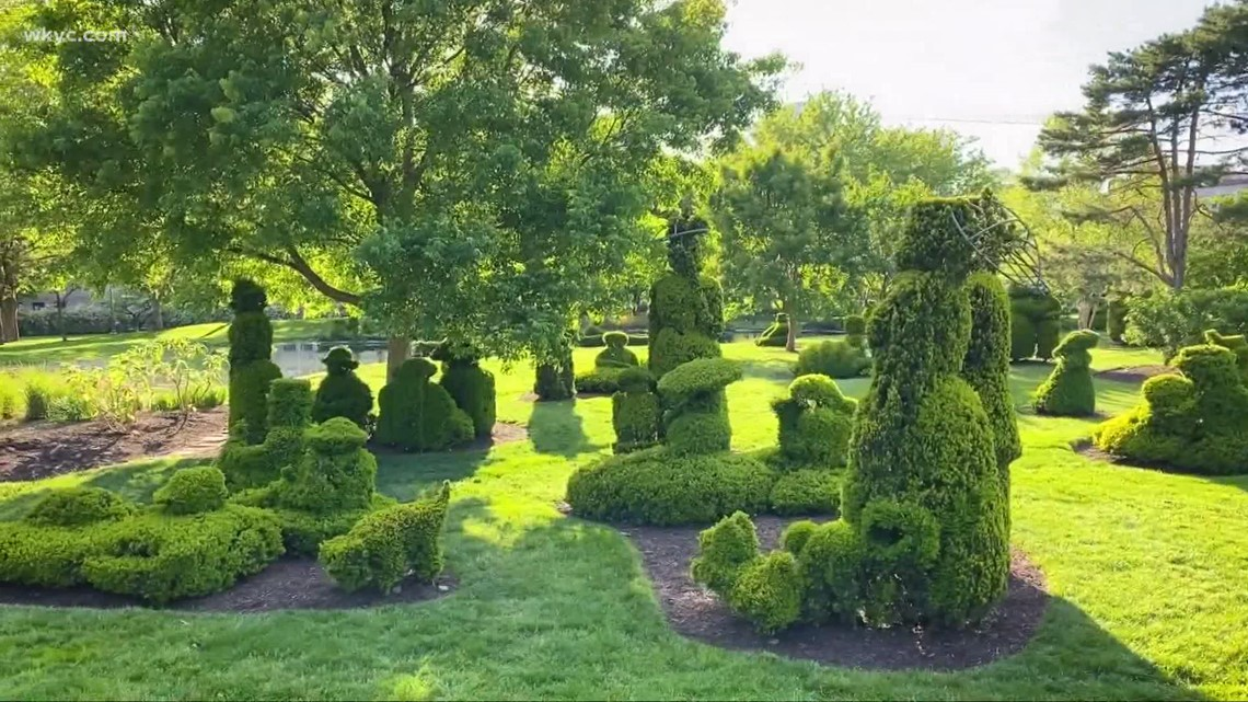 Exploring Topiary Garden in Columbus: Stepping inside a famous French painting