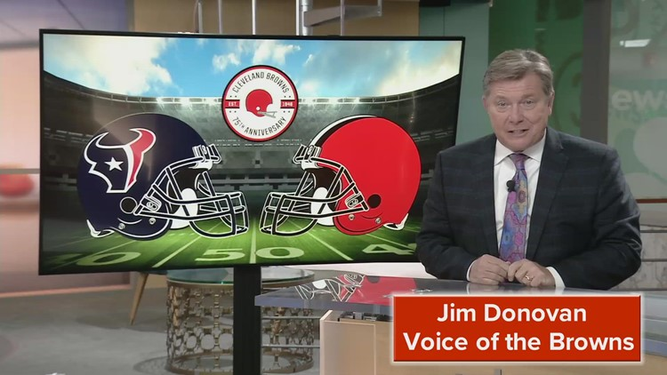Voice of the Browns Jim Donovan has the scouting report for the Cleveland Browns vs. Houston Texans