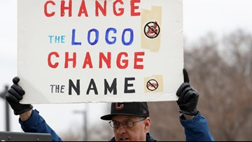 Chief Wahoo protest will go on despite removal from Indians' jerseys