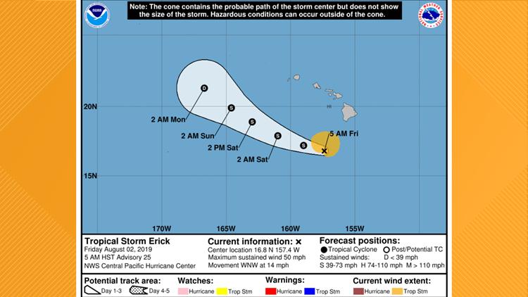 Tropical Storm Erick