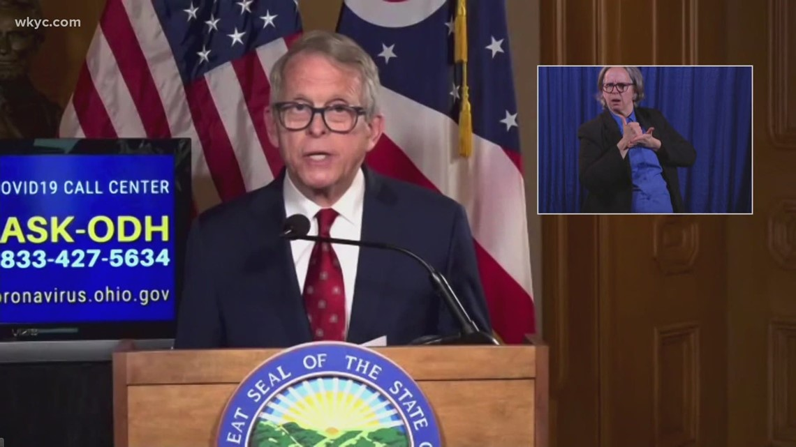 Gov. Mike DeWine announces Ohio will opt out of $300 federal pandemic unemployment program